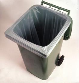 10 Stück 240 Liter BioBag Einlegesack nach EN 13432 für die Biotonne -