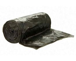 100 Stk. Mülleimerbeutel Müllbeutel 18 Liter, 45 x 54 cm, schwarz -