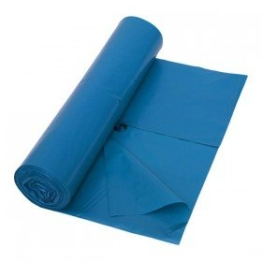 250 Müllsäcke 10 Rollen 120 Liter 70x110cm Blau extra stark Typ 85 ca. 85µ stark Abfallsäcke Müllbeutel Laubsäcke -