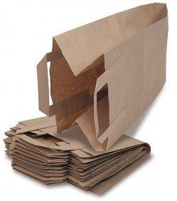 Bioabfalltüten - Tüte für den Bioabfall - Mit Henkel und Rollboden - 40 Stück - Bio Müllbeutel -