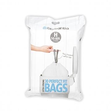 Brabantia Müllbeutel-Spenderpackung, 50 Liter, 30 Stück -