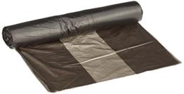 DEISS UNIVERSAL 44901 Müllbeutel, 6 L, 290 mm x 330 mm, 50 pro Rolle, Grau -