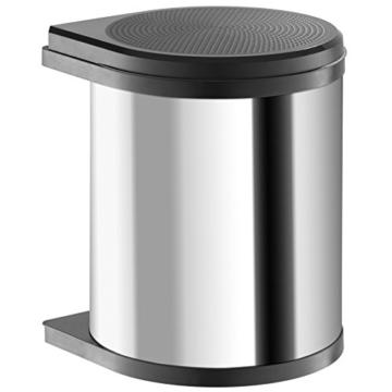 Hailo 3555-101, Compact-Box M, Einbau-Abfallsammler, 15 Liter, verschiedene Farben -