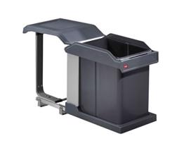 Hailo 3632101 Abfallsammler MS Swing 30.1/20 für Schränke ab 300 mm Breite mit Drehtür -