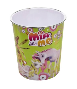 Joy Toy 118084 - Mia and Me Abfalleimer, 21 x 21 x 23 cm -