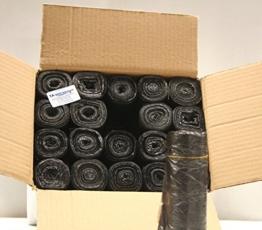 Müllbeutel 25 - 30 Liter schwarz / grau 500 x 600 mm 1.000 Stück -