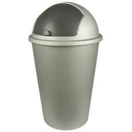 Mülleimer Abfalleimer Schiebedeckel 50 L Mülltrenner -