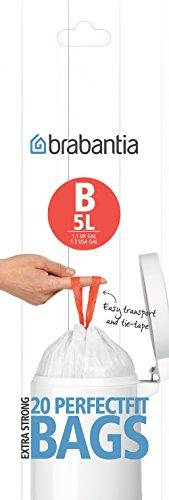 PerfectFit Beutel 5 L (B) - 20 Stück pro Rolle -