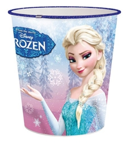 p:os 24678 Papierkorb Disney Frozen, circa 22,6 x 21 cm, Kunststoff -