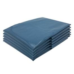 VARIOSAN Müllsäcke 11664, 240 L, extra stark, 5 Stück, 90 µ, Typ 100, blau -